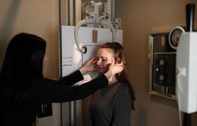 Chiropractor Troy MI Jamie Cramer X-Ray Evaluation